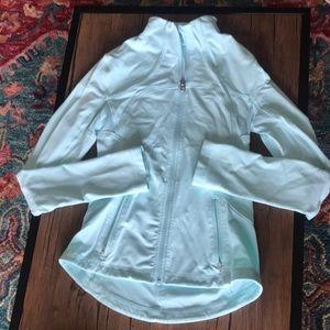 LULULEMON light blue/mint blue jacket size 4